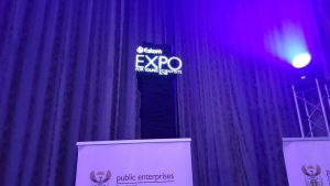 3D led holographic fan holospin event south africa 3