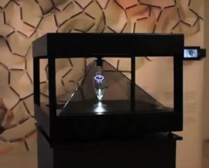 Cheoptics 360 Desktop - 4 sided LCD 3D Holographic Display-3